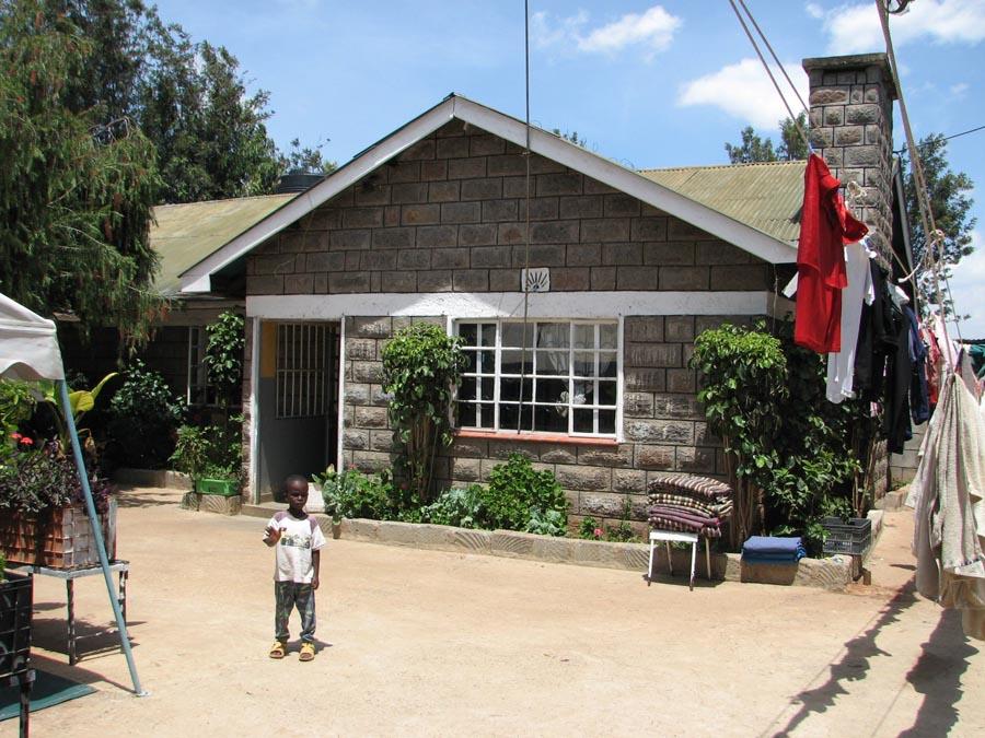 Hoofdgebouw Preparationhouse Ngong